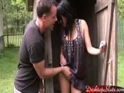 Angelica Kitten suger och knullar en kille