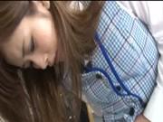Japanska Blå Vest Office Lady Shinsotsu