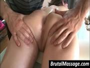 Sexig brud blir kroppsmasse