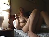 Annette samtal om sex i en billiga Motell rum