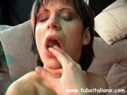 Italienska fru anal